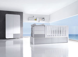 ALONDRA - konver kurve silver - Crib Bedding