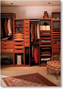 Jean Marc Baillet - modulables - Straight Walk In Closet