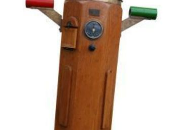 Antiqmarine - compas sur fût - Compass