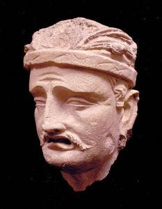 Jacques Barrere - tete de personnage - Human Head