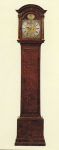JOHN CARLTON-SMITH - william halstead, london apprenticed 1705, cc 171 - Free Standing Clock