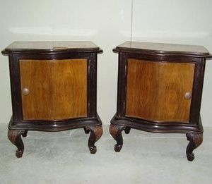 Wessex Antique Bedsteads -  - Bedside Table