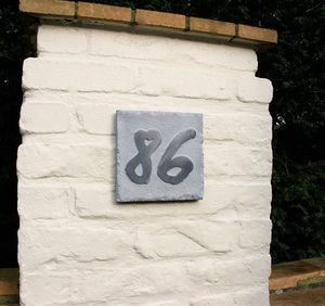 La Pierre - style 6 - House Number