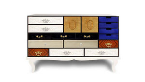 BOCA DO LOBO - soho - Drawer Console
