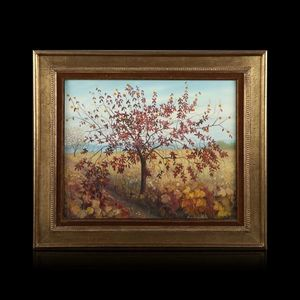 Expertissim - andré quellier. l'oranger - Landscape Painting
