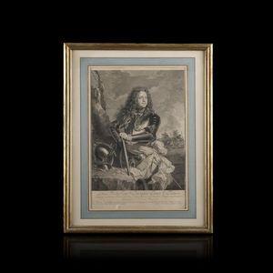 Expertissim - portrait de louis de la tour d'auvergne, comte d - Engraving