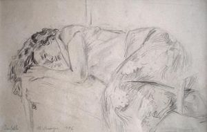 Michel Maugee -  - Pencil Drawing