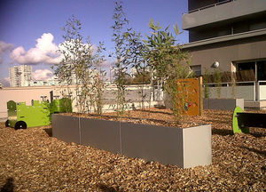 IMAGE'IN by ATELIER SO GREEN - irm120.50h70 - Street Planter