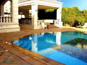 Emaux de Briare - cascade - Pool Tile