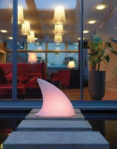Moree - shark outdoor led - Garden Lamp