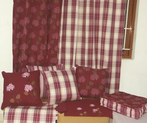 ITI  - Indian Textile Innovation - winter plaids - Cushion Cover