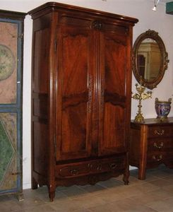 Jacque's Antiques - armoire from marseille france - Wardrobe
