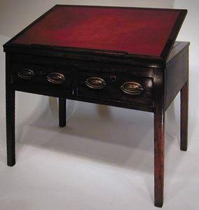 BAGGOTT CHURCH STREET - sheraton georgian mahogany reading/drawing table - Drafting Table
