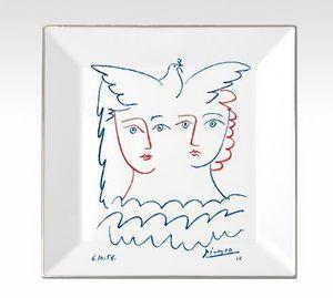 MARC DE LADOUCETTE PARIS - picasso deux femmes et colombe 1956 - Pin Tray