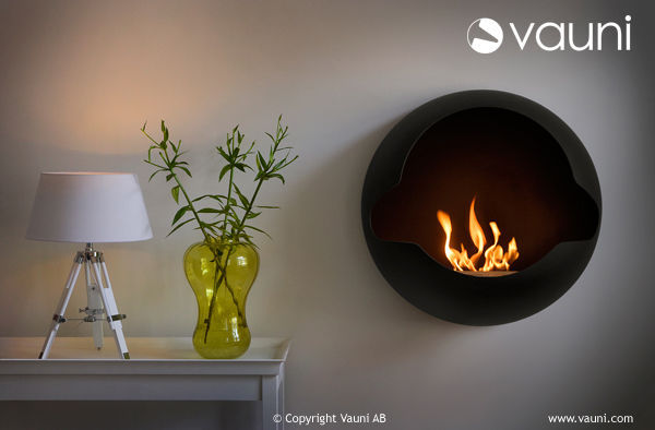 VAUNI - Flueless burner fireplace-VAUNI-Cupola