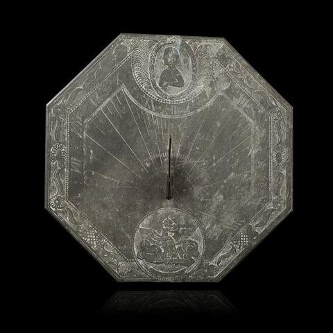 Expertissim - Sundial-Expertissim-Cadran solaire avec buste de Napoléon Ier