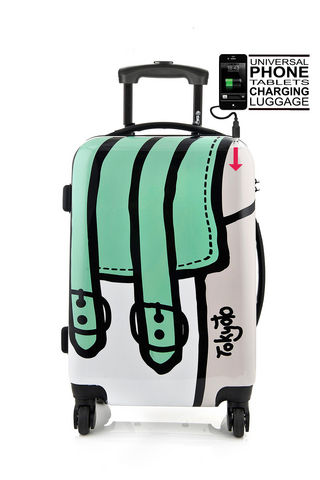TOKYOTO LUGGAGE - Suitcase with wheels-TOKYOTO LUGGAGE-TWISTED BAG