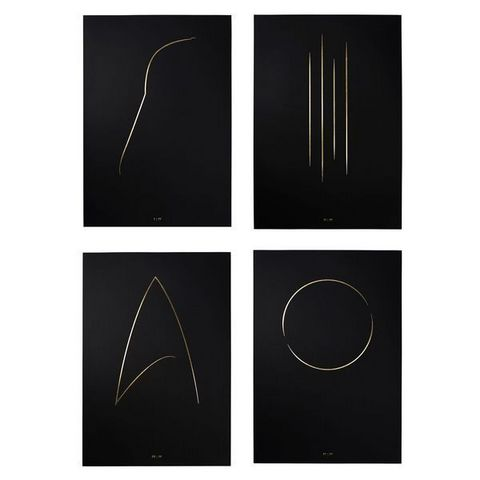 THE THIN GOLD LINE - Art print-THE THIN GOLD LINE-The Full Collection