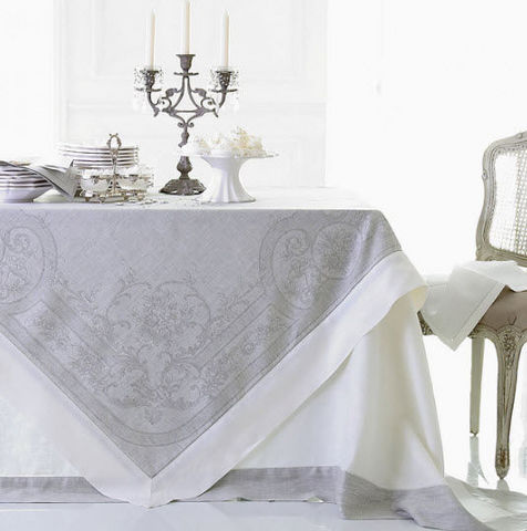 Cologne & Cotton - Square tablecloth-Cologne & Cotton