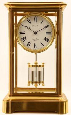 Derek Roberts Antiques - Desk clock-Derek Roberts Antiques-31210C.FM