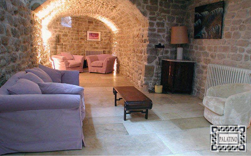 Carrelage  Palatino Platte aus Naturstein Bodenplatten Böden Wohnzimmer-Bar | Klassisch