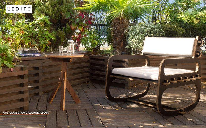 L'EDITO - Meubles sur Mesure Terrassensessel Gartensessel Gartenmöbel Garten-Pool |