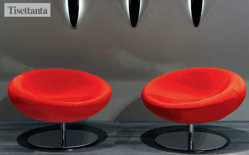 Tisettanta Drehsessel Sessel Sitze & Sofas Arbeitsplatz | Design Modern