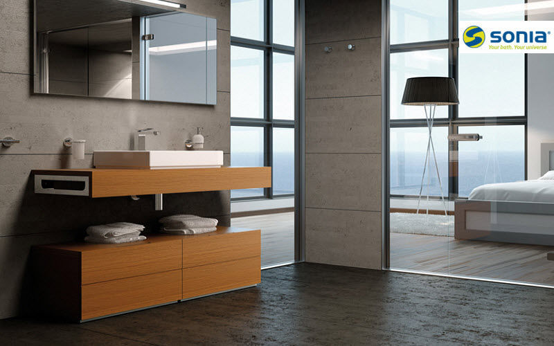 Sonia waschtisch untermobel Badezimmermöbel Bad Sanitär Badezimmer   Design Modern
