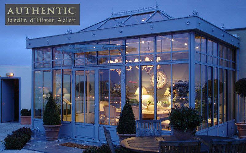 AUTHENTIC Veranda Veranda Gartenhäuser, Gartentore... Terrasse | Klassisch