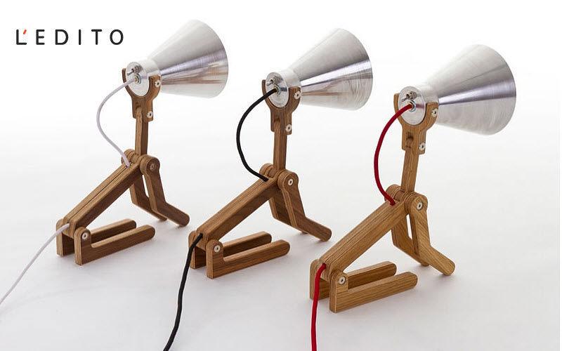 L'EDITO - Meubles sur Mesure Tischlampen Lampen & Leuchten Innenbeleuchtung Büro | Unkonventionell