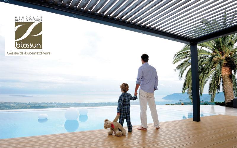 BIOSSUN Pergola Gartenhäuser & -pavillons Gartenhäuser, Gartentore... Garten-Pool | Design Modern