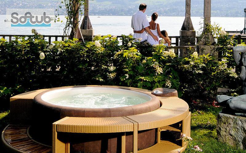 SOFTUB Aufblasbarer Spa Spas Schwimmbad & Spa   