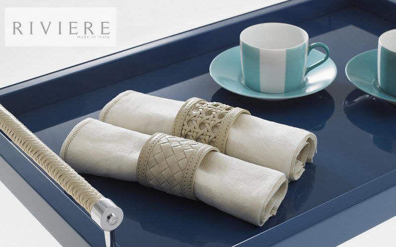RIVIERE Tablett Platte Küchenaccessoires Esszimmer   Design Modern