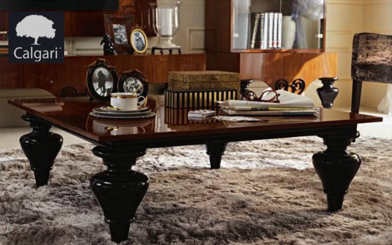 CALGARI Couchtisch quadratisch Couchtische Tisch Wohnzimmer-Bar | Design Modern