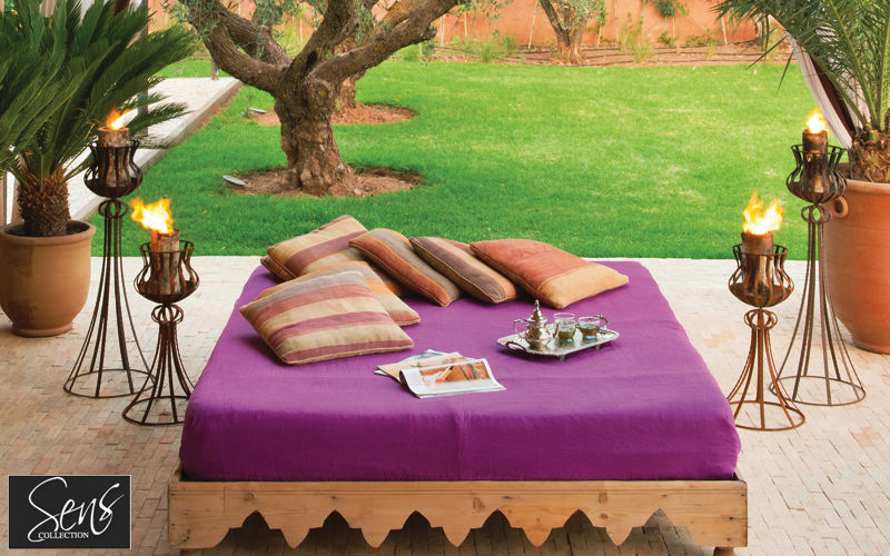 SENS COLLECTION Gartenfackel Kerzen und Kerzenständer Dekorative Gegenstände Terrasse | Design Modern