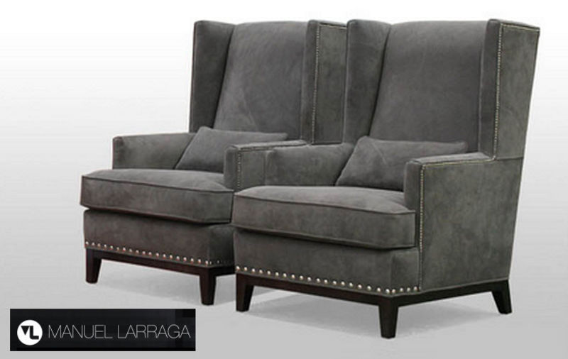 MANUEL LARRAGA Ohrensessel Sessel Sitze & Sofas  |