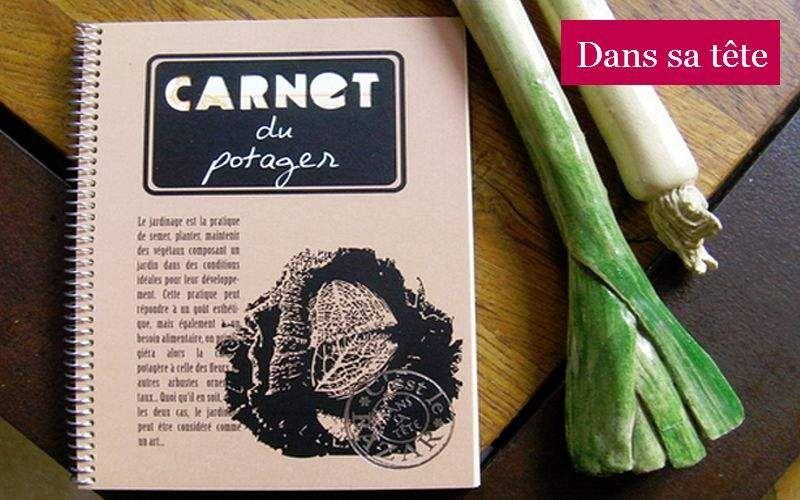DANS TETE Gartenbuch Papier- und Schreibwaren Papetterie - Büro  |