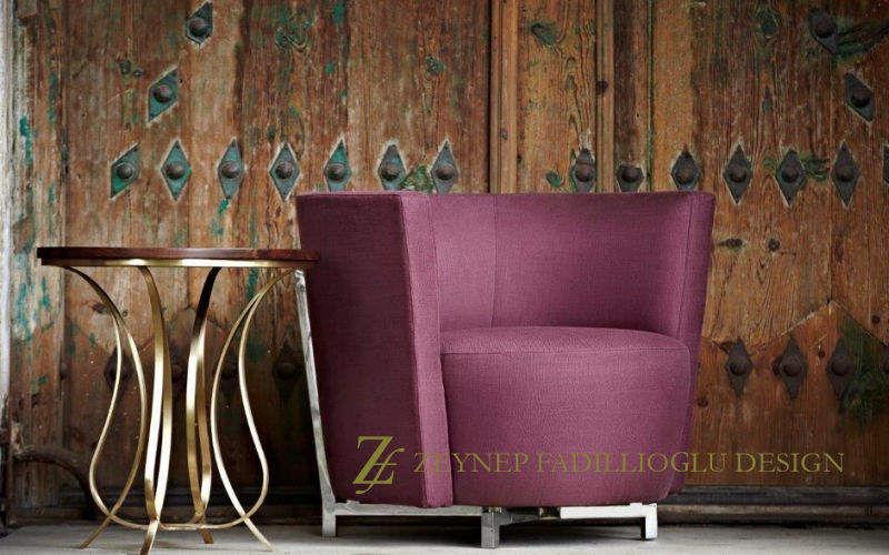 ZEYNEP FADILLIOGLU DESIGN Sessel Sessel Sitze & Sofas Wohnzimmer-Bar | Exotisch