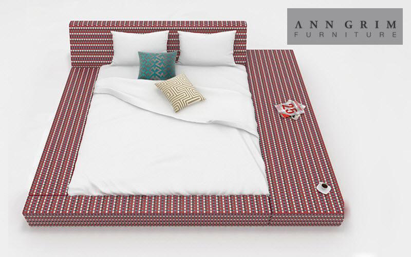 ANN GRIM Doppelbett Doppelbett Betten  | Unkonventionell