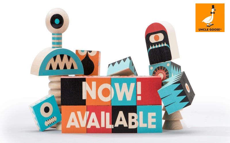 UNCLE GOOSE Aufbau Spiel Geschicklichkeits- und Logikspiel Spiele & Spielzeuge Kinderzimmer   Design Modern
