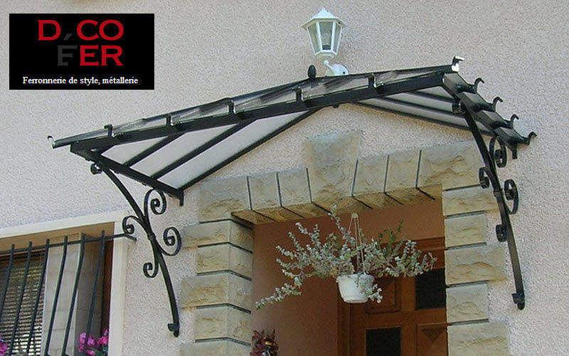 DECOFER Eingangsvordach Vordächer und Markisen Fenster & Türen  |