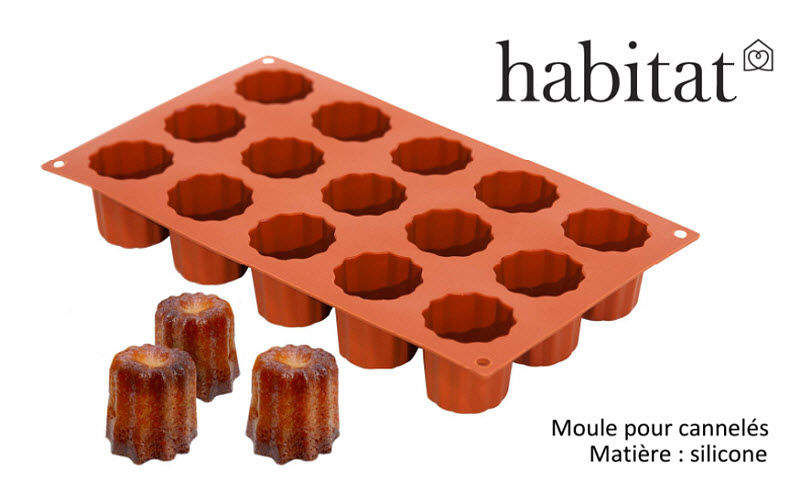 Habitat France Cannelé-Form Kuchenformen Kochen  |