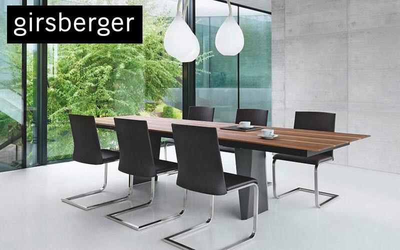 GIRSBERGER Rechteckiger Esstisch Esstische Tisch   