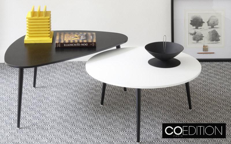 COEDITION Runder Couchtisch Couchtische Tisch  |