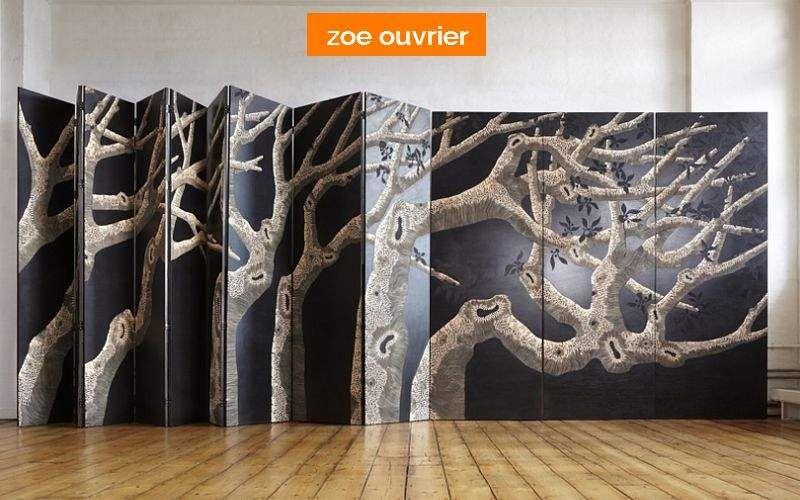 ZOE OUVRIER Paravent Sichtschutzwand Tisch  | Unkonventionell