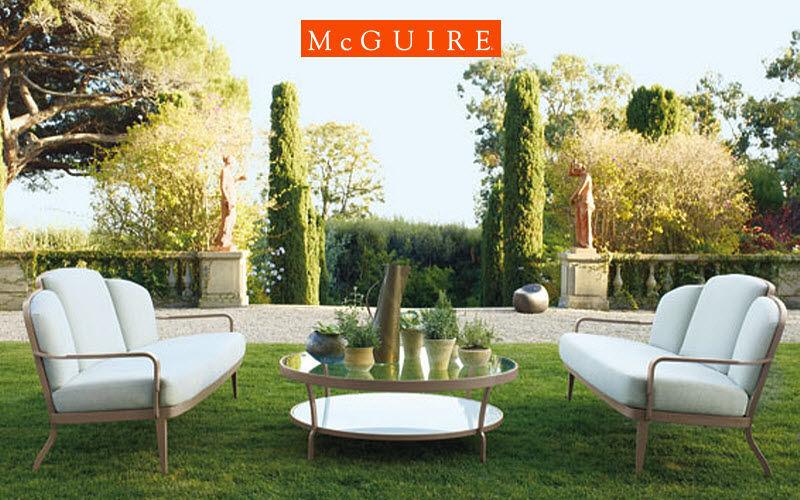 McGUIRE Gartengarnitur Gartenmöbelgarnituren Gartenmöbel  |
