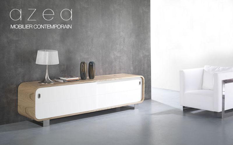 AZEA Credence-Kommode Truhen Anrichten Regale & Schränke Wohnzimmer-Bar |