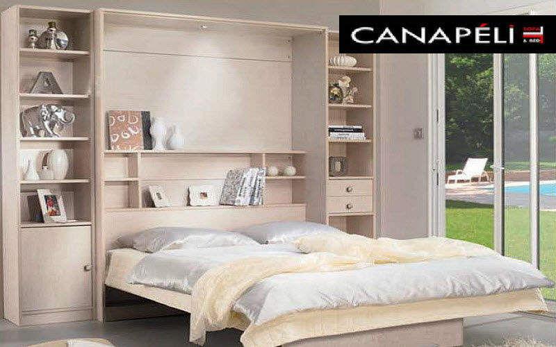 CANAPELIT Hochklappbares Bett Klappbetten Betten  |