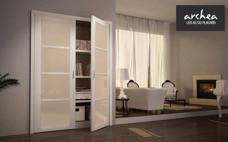 Archea Schrank mit Stoffvorhang Schränke Garderobe  |
