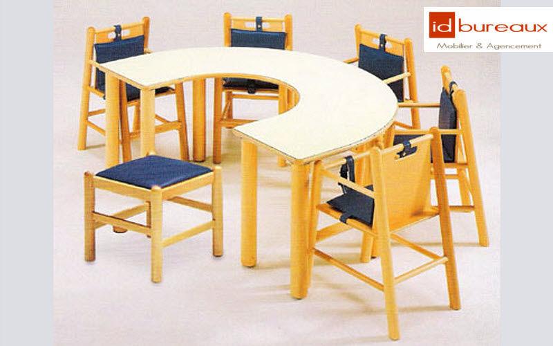ID.Bureaux Mobilier & Agencement Schultisch Schreibtische & Tische Büro   